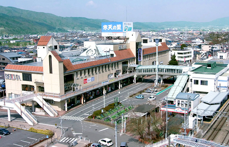 JR茅野駅前再開発事業